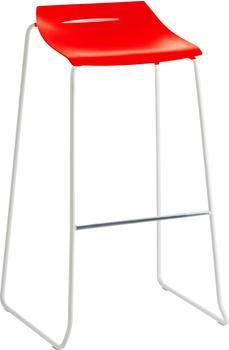 Mayer Sitzmöbel Barhocker myPURISM(BHT 53x90x40 cm) Mayer Sitzmöbel rot