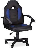 relaxdays-gaming-stuhl-xr7-aus-kunstleder-blau