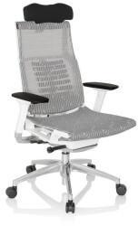 HJH Office Drehstuhl hjh OFFICE High End Bürostuhl DYNAFIT WHITE I