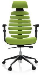 HJH Office Drehstuhl hjh OFFICE Profi Bürostuhl ERGO LINE II PRO grün