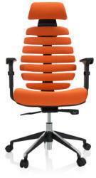 HJH Office Drehstuhl hjh OFFICE Profi Bürostuhl ERGO LINE II PRO orange