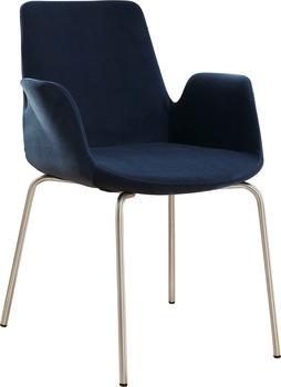 Mayer Sitzmöbel Drehstuhl Sessel myHELIOS, drehbar blau