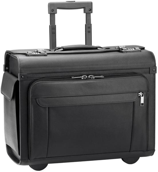 d & n Pilot Trolley Case black (2865)