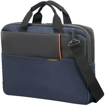 "Samsonite Qibyte Briefcase 14,1"" blue (76369)"