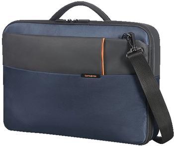 """Samsonite Qibyte Briefcase 15,6"""" blue (763875)"""