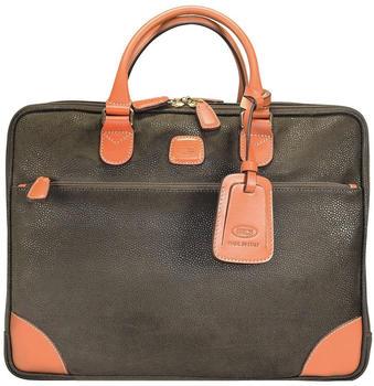 Bric's Milano Life Briefcase (BLF15130-378) brown