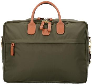 Bric's Milano X-Travel Briefcase (BXL45125-078) olive