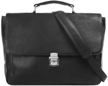 Harold's Heritage Campo Briefcase (283035-01) black