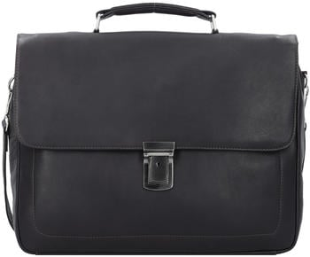 Harold's Heritage Campo Briefcase (283035-03) black