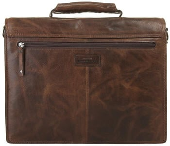 Harold's Saddle Briefcase (240908-01) brown