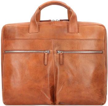 Jost Amsterdam Briefcase (906950-1) cognac