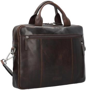 Jost Roma Briefcase (LHD-905392-2) dark brown