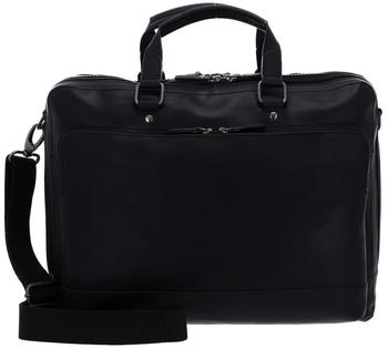 Leonhard Heyden Dakota Zipped Briefcase 2 black