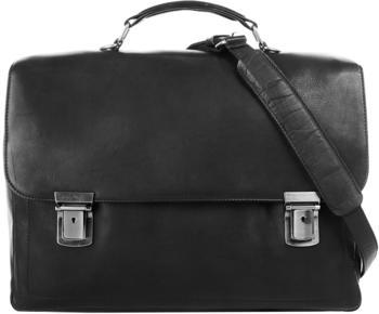 Harold's Heritage Campo Briefcase (285135-01) black