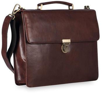 Jost Cambridge Briefcase (LHD-905250-0) dark brown