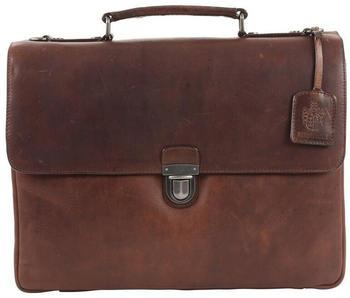 Jost Roma Briefcase (LHD-905390-2) dark brown