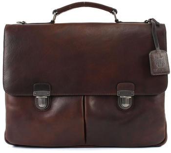 Jost Roma Briefcase (LHD-905364-2) dark brown