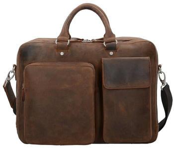 Jost Salisbury Briefcase (LHD-907662-2) dark brown