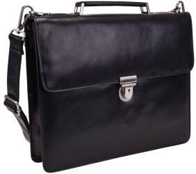 Georg A. Steinmann Lederwarenfabrik GmbH & Co. KG Leonhard Heyden Cambridge Briefcase 1 Compartment black