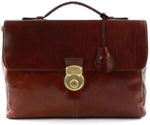 The Bridge Capalbio Briefcase marrone