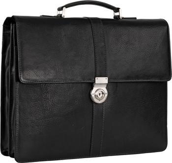 Georg A. Steinmann Lederwarenfabrik GmbH & Co. KG Leonhard Heyden Bergamo Briefcase 2 black