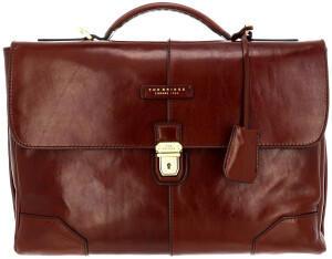 The Bridge Vespucci Briefcase marrone, 37cm