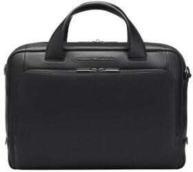 Porsche Design Roadster Leather Briefcase black