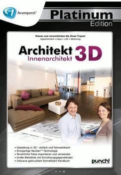 Avanquest Architekt 3D Innenarchitekt Platinum (DE) (Win)