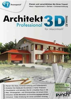 Avanquest Architekt 3D X7 Professional (DE) (Mac)