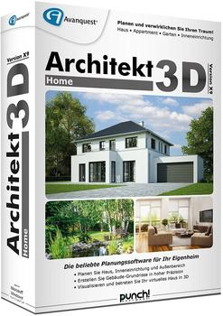 Avanquest Architekt 3D X9 Home (DE) (Box)