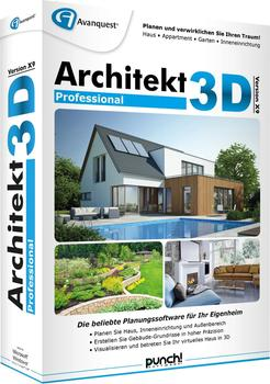 Avanquest Architekt 3D X9 Professional (DE) (Box)