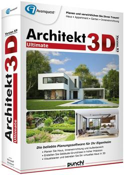 Avanquest Architekt 3D X9 Ultimate (DE) (Box)