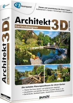 Avanquest Architekt 3D X9 Gartendesigner (DE) (Box)