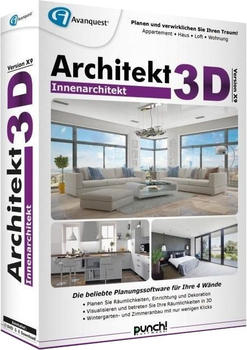 Avanquest Architekt 3D X9 Innenarchitekt (DE) (Box)