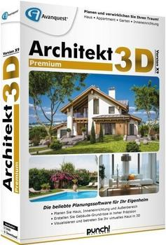 Avanquest Architekt 3D X9 Premium (DE) (Box)
