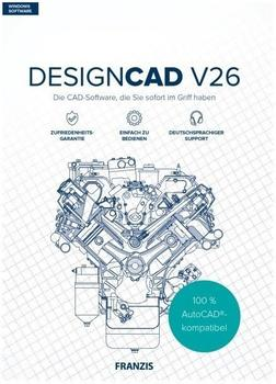 Franzis DesignCAD V26 2D (Box)