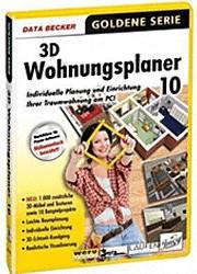 Data Becker 3D Wohnungsplaner 10 (Win) (DE)