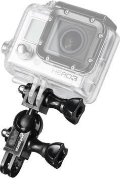 Mantona Mini Kugelkopf Halter für GoPro Mount