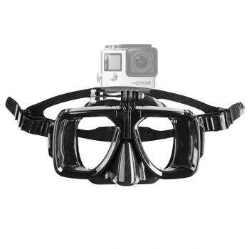 Mantona Taucherbrille mit Befestigung für GoPro