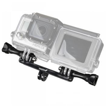 Mantona Befestigungsadapter Double für GoPro