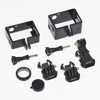Mantona Rahmen + Linsenschutz Set XL für GoPro