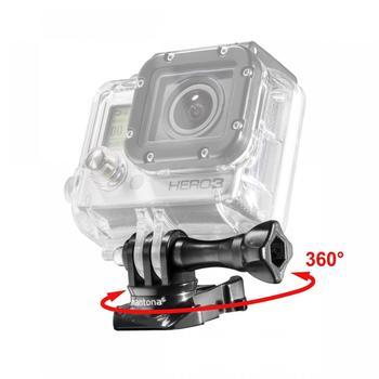 Mantona 360° Befestigungsclip für GoPro