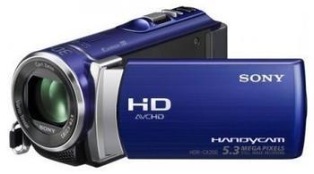 Sony HDR-CX200EL Blau