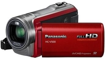 Panasonic HC-V500MEG rot