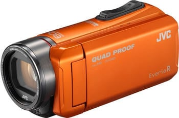 JVC GZ-R405 QuadProof orange
