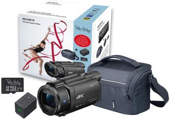 Sony FDR-AX53 Special Edition Camcorder/Tasche/32 GB Micro-SD/Akku