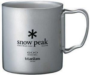 Snow Peak Titanium Double Wall Cup 450ml