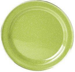 GSI Emaille Teller grün