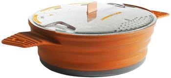 Sea to Summit X-Pot Gr. 1,4 L faltbarer Kochtopf orange