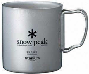 Snow Peak Titanium Double Wall Cup 300ml